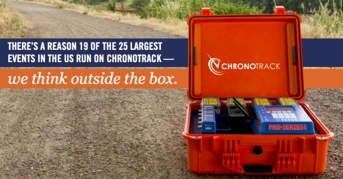 ChronoTrack Pro 2 Facebook Ad